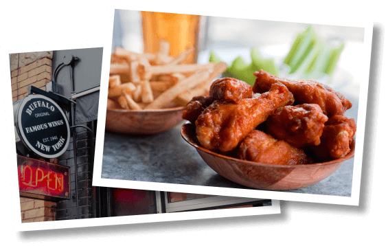 Duff's Wings and Fries